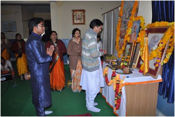 Celebration of Gyan Yug Diwas Start with Guru Poonjan on date 12/1/2014